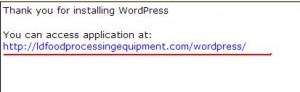 JAC外贸实战:ixwebhosting一键安装wordpress后的路径问题