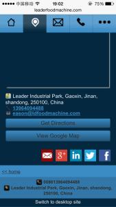 JAC外贸实战:展示两个手机站,迎接移动搜索,你准备好了吗?