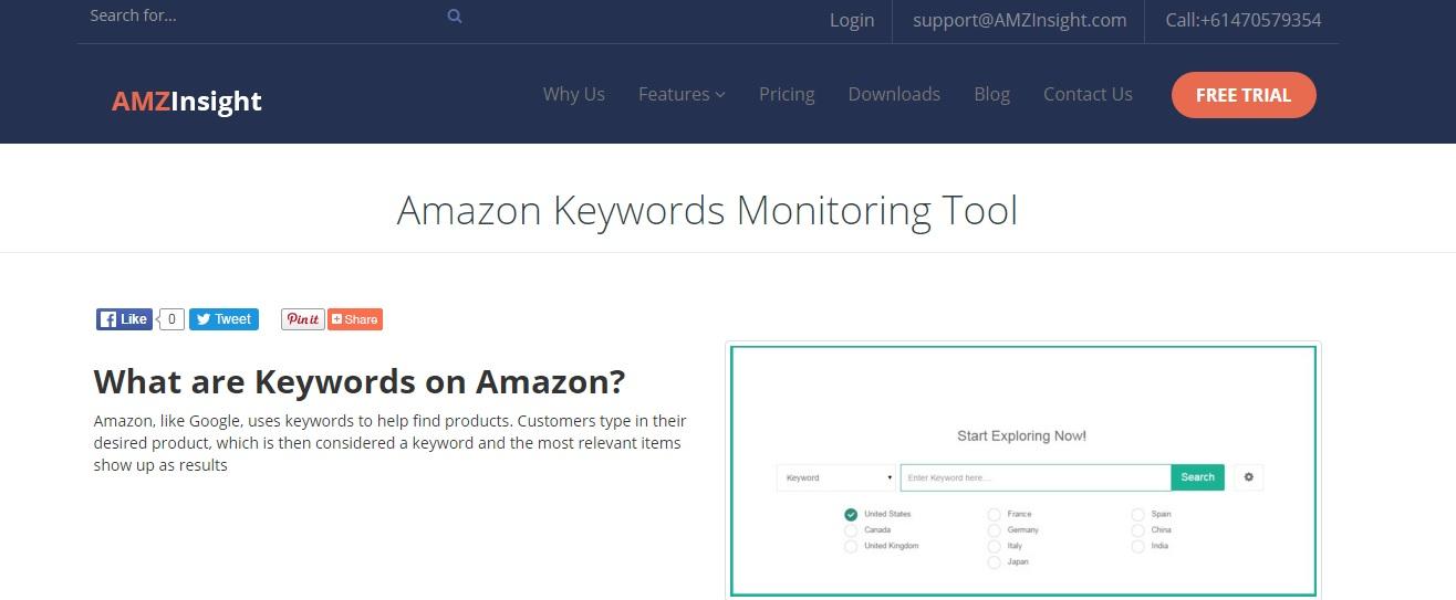 JAC外贸实战B2C篇:亚马逊的工具网站